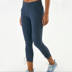 COLUMBIA WOMEN'S ANYTIME CASUAL BLUE ANKLE PANTS